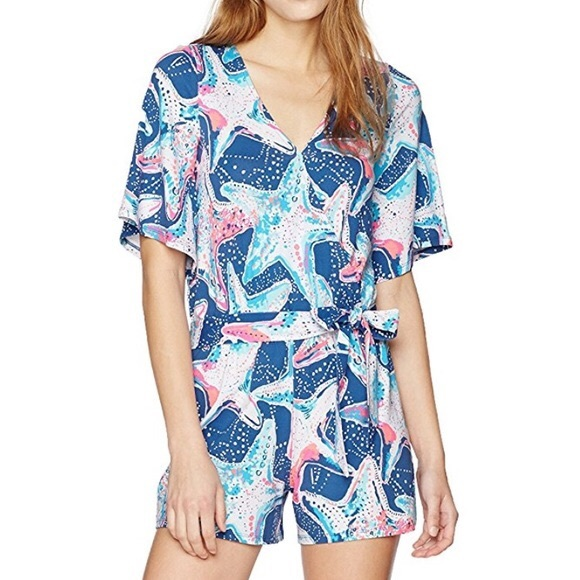 3bed41d37f06 Lilly Pulitzer Starstruck Madilyn Romper. NWT
